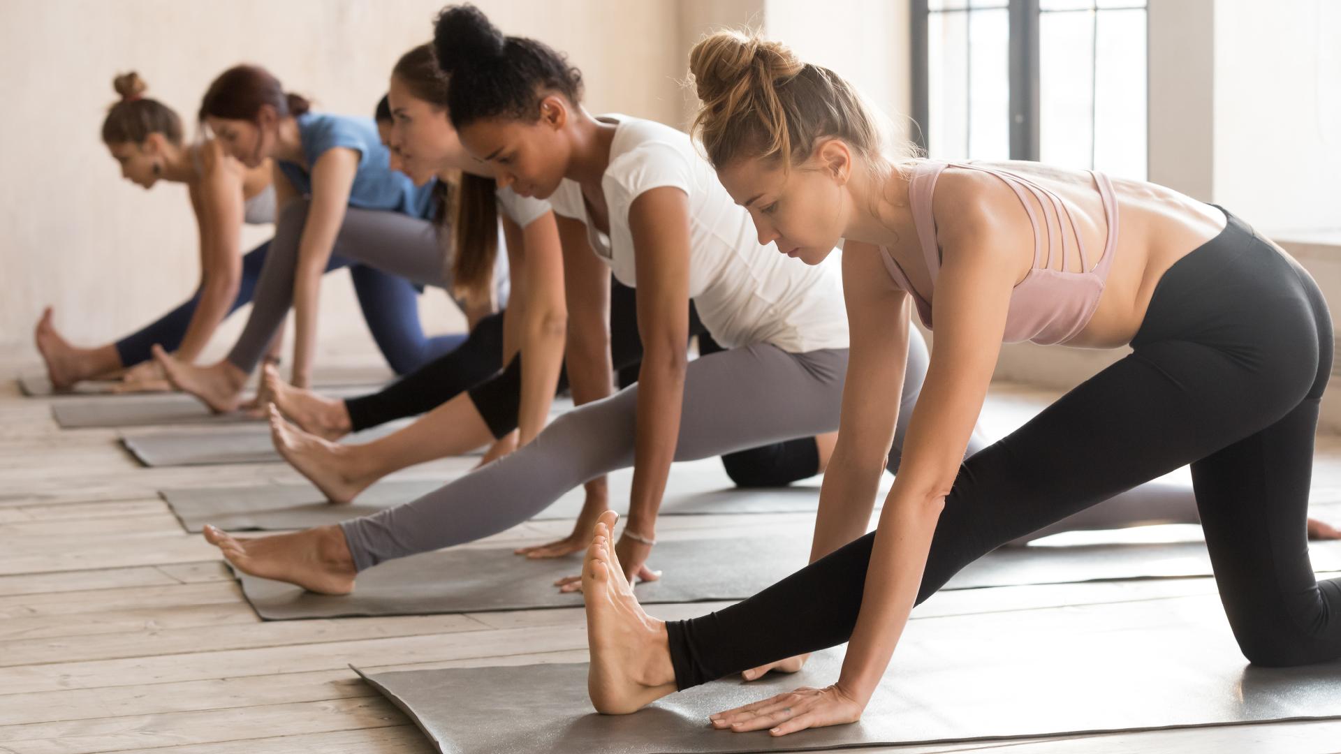 Health & Wellness Influencers Doing Yoga